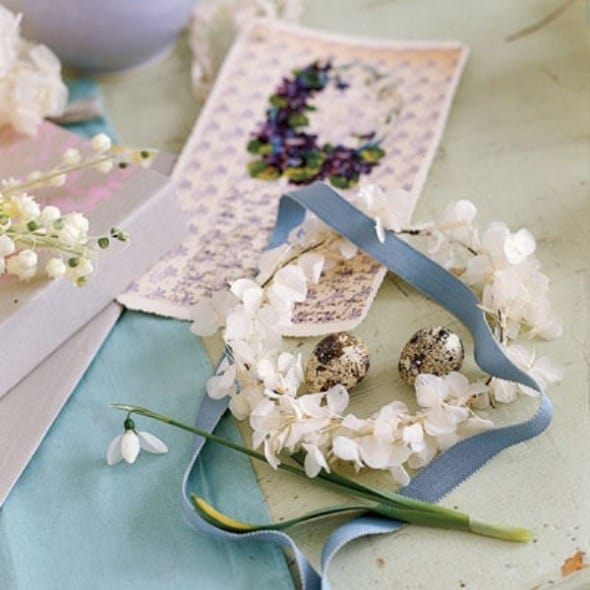 written invitations with a vintage floral fair