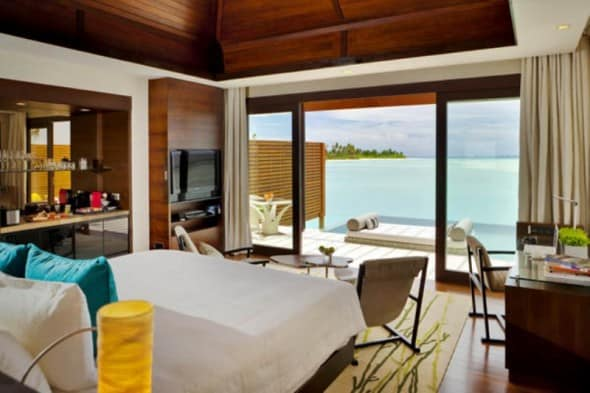 Bedroom - Niyama Hotel in the Maldives