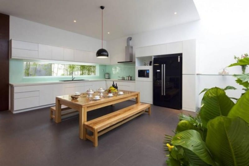 Simple Elegant Dining Set Sophisticated Modern Penthouse