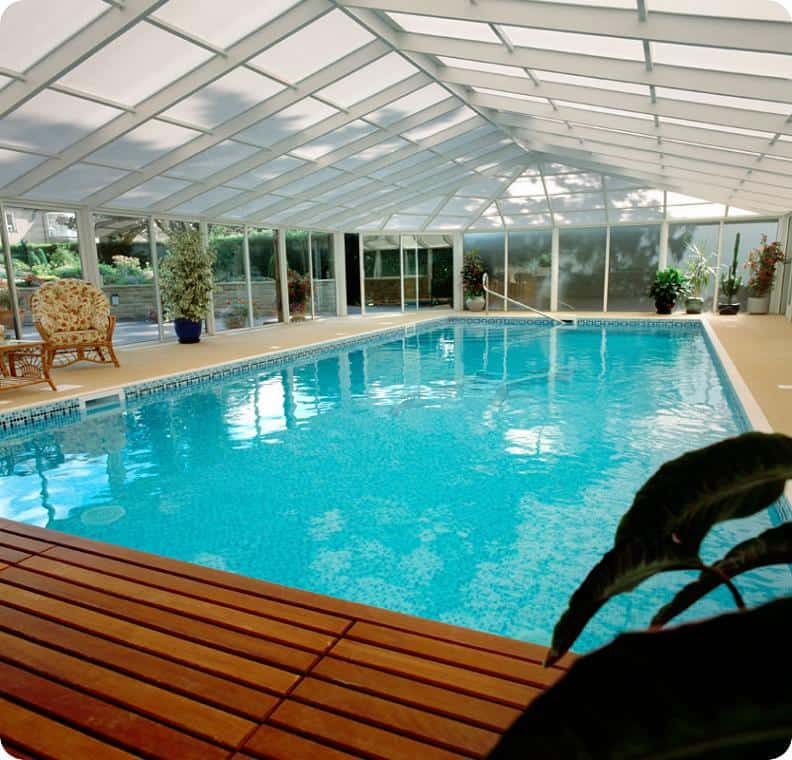 Glass Topped Indoor Pool - Indoor Swimming Pool