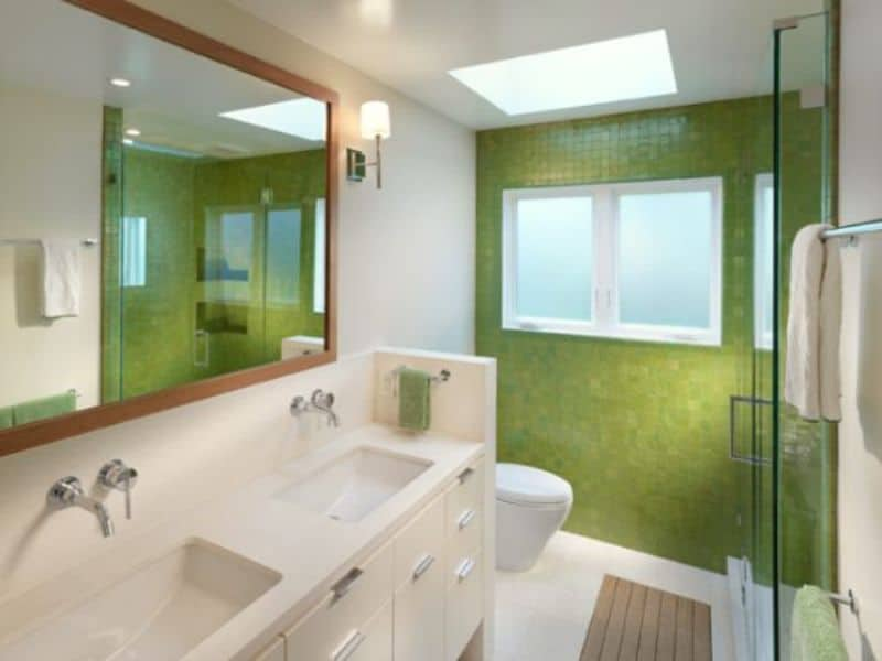 Green in the Bathroom for Your Rooms