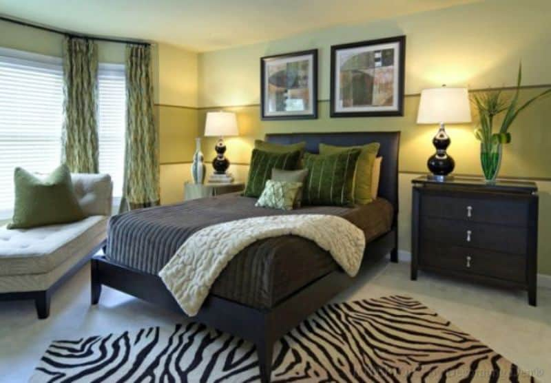 Green in the Bedroom for Your Rooms