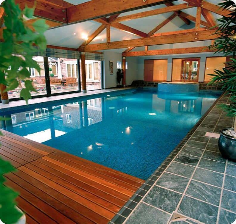 Tranquil Looking Indoor Pool