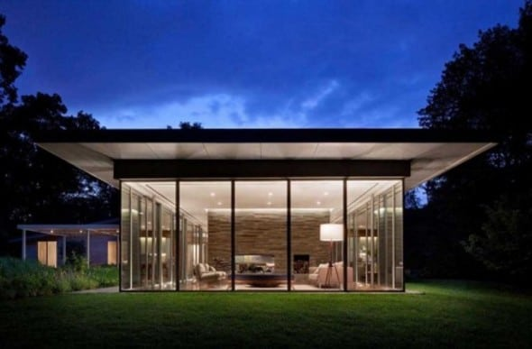 Transparent Ranch House