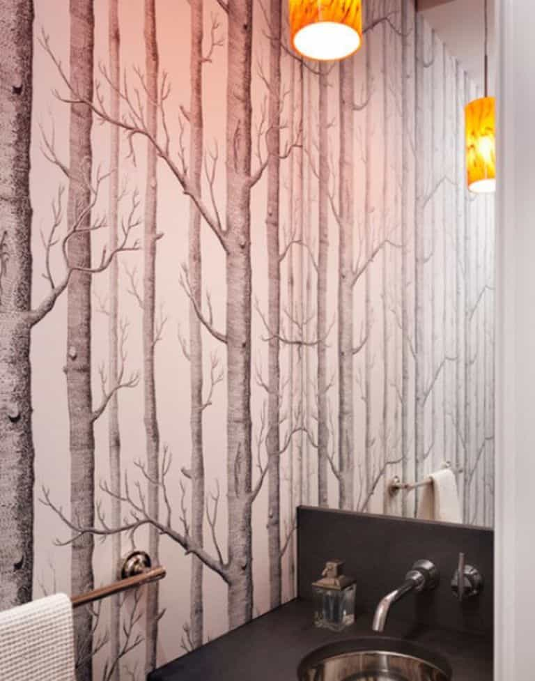 Wallpaper Bathroom