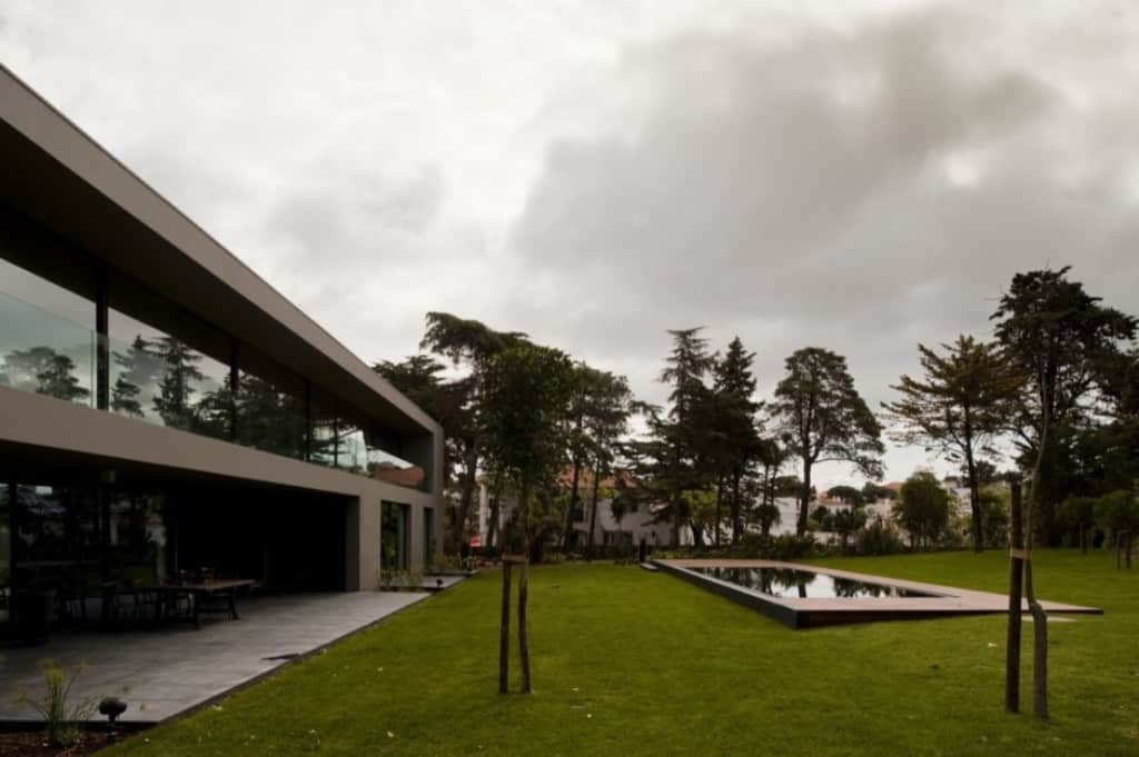 Wide Yard by Frederico Architects