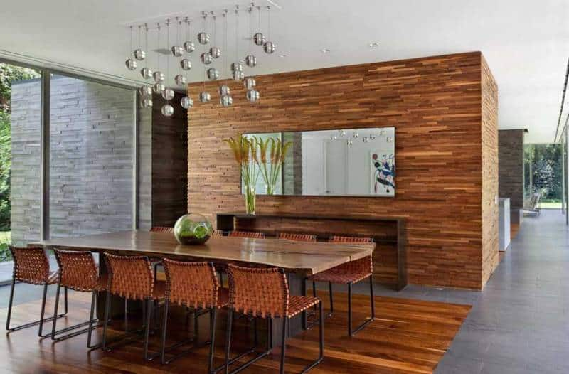 Dining Area Interior Ranch House Refurbishment Design By Ohlhausen BuBois Architects