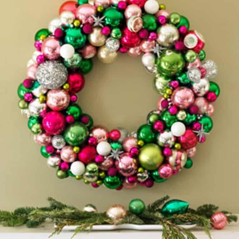 Christmas Wreath - Front Door Area
