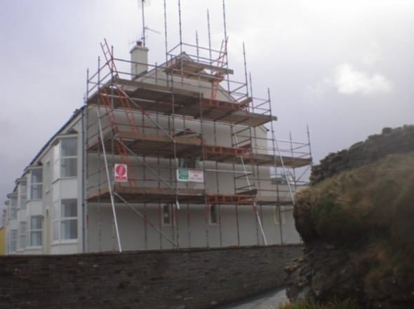 House Repair Scaffolding