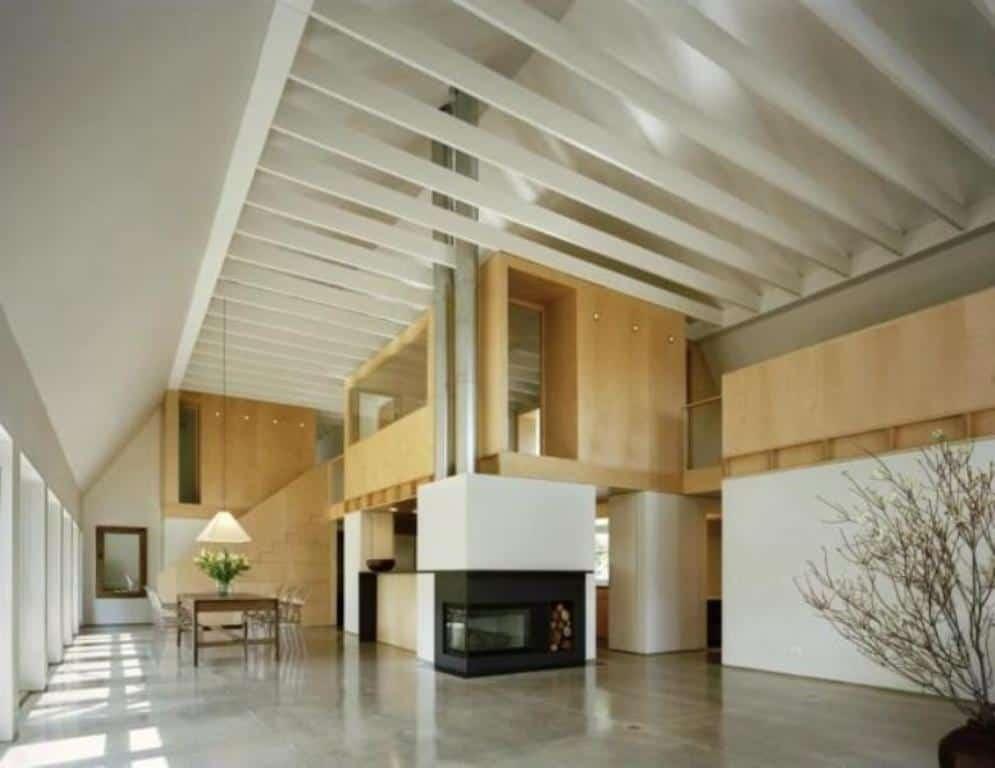 ArchitectureDecor - Corner Fireplace - Simple Concept of Fireplace