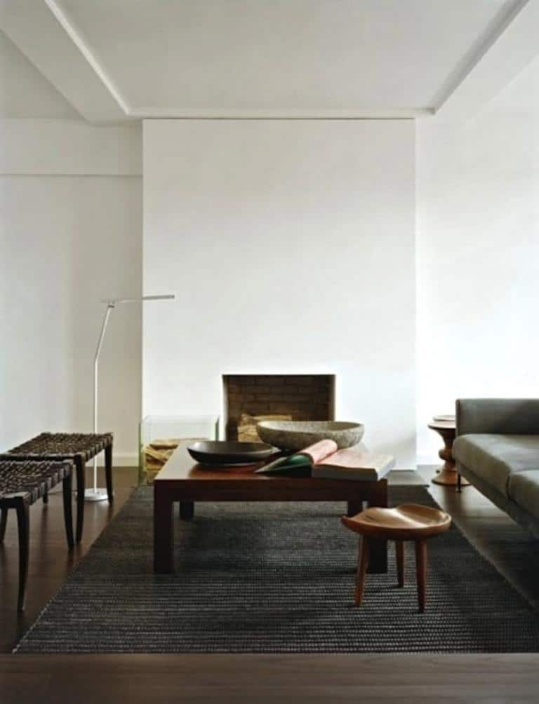 ArchitectureDecor - Minimalist Fireplace - Simple Concept of Fireplace