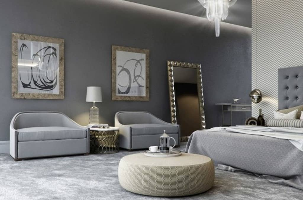 wall color Luxury Bedrooms In Detail